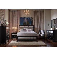 Barzini Transitional California King Four-piece Bedroom Set