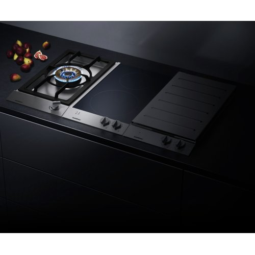 "Vario 200 Series Gas Wok Cooktop Stainless Steel Control Panel Width 12 "" Natural Gas Wok Burner With Up To 5.5 Kw"