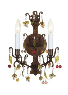 Sconce With Crystals