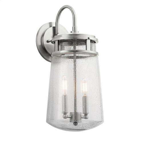 Lyndon Collection Lyndon 2 Light Outdoor Wall Light BA