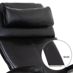 Perfect Chair PC-600 Omni-Motion Silhouette - Black Top-Grain Leather - Matte Black
