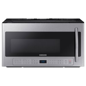 SAMSUNG2.1 cu. ft. Over The Range Microwave with Ceramic Enamel Interior