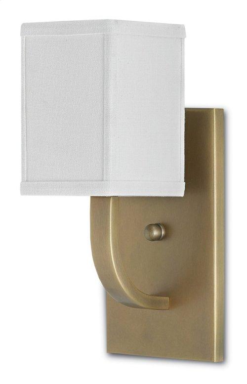 Sadler Brass Wall Sconce