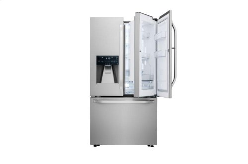 LG STUDIO 24 cu. ft. Smart wi-fi Enabled Door-in-Door® Counter-Depth Refrigerator