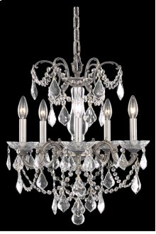 9705 Athena Collection Hanging Fixture Pewter Finish