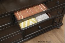 Dresser with Hidden Drawer