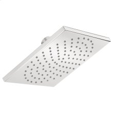 Chrome Showerhead 180 Square 1-Jet, 2.5 GPM
