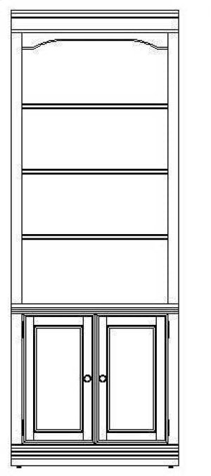 "Cherry Creek 32"" Wall Storage Cabinet"