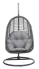 Emerald Home San Marino Hanging Basket Chair-w/cushion Spuncrylic Sketch Grey Ou1060-2-09-23-k Product Image