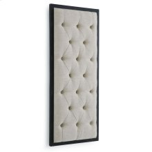Tufted Wall Panel Display (oatmeal Linen)