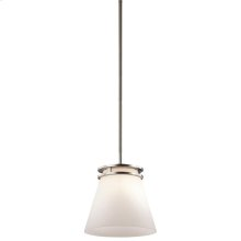 Hendrik Collection Hendrik 1 Light Mini Pendant in NI