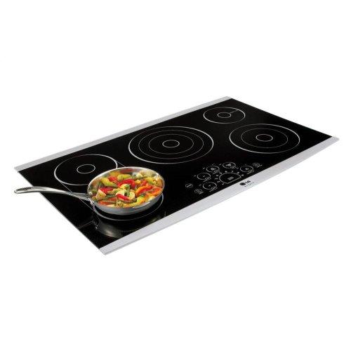"LG STUDIO 36"" Electric Cooktop"