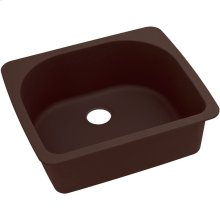 "Elkay Quartz Classic 25"" x 22"" x 8-1/2"", Single Bowl Drop-in Sink, Pecan"