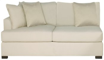 Adriana Left Arm Loveseat in Mocha (751) Product Image