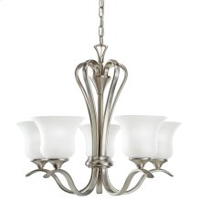 Wedgeport 5 Light Chandelier Brushed Nickel