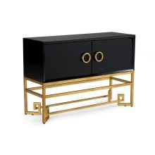 Decker Cabinet - Black