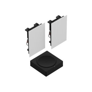 SonosBlack- In-Wall Set