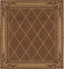 Hard To Find Sizes Ashton House As03 Cocoa Rectangle Rug 7'4'' X 6'9''