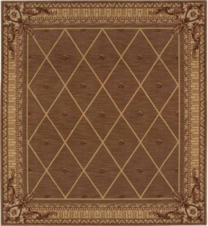 Hard To Find Sizes Ashton House As03 Cocoa Rectangle Rug 8' X 15'