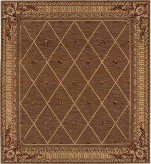 Hard To Find Sizes Ashton House As03 Cocoa Rectangle Rug 8' X 15'