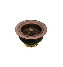 Basket Strainer Antique Copper
