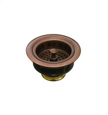 Basket Strainer Antique Copper