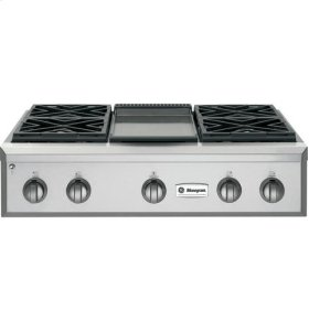 """36"""" Pro Rangetop with Griddle"""