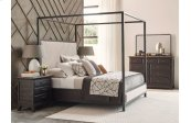 Shelley Canopy Cal King Bed - Complete