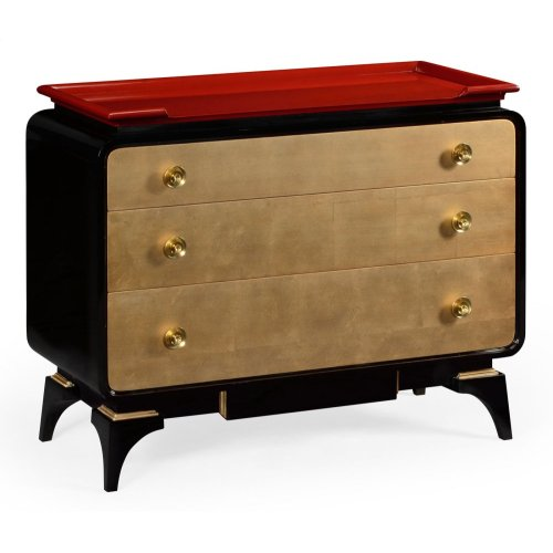 Emperor Red Chest of Drawers