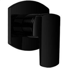 Pressure Balance Mixer with 2 Way Diverter RND + LEVER - Black