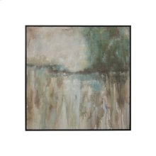 Abstract Landscape - Handpainted Art On Canvas