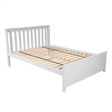 Full Bed White