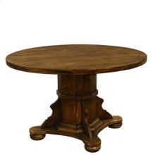 "Medio : 48"" x 30"" Ixtapa Round Wood Top Dining Table"