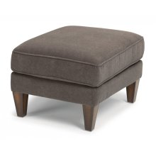 Digby Leather Ottoman