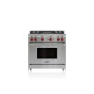"""36"""" Gas Range - 4 Burners and Infrared Charbroiler Product Image"""