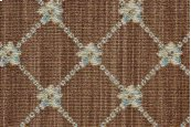 LUXE POINTE FLOWER TRELLIS LP03 BROWN-B 13'2''