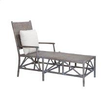 Woven Rattan Lounge Chair