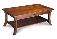 Park Avenue 1-Drawer Open Coffee Table