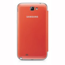 Galaxy Note II Flip Cover, ORANGE