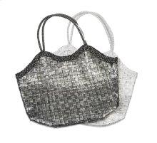 BTQ Monetta Metallic Straw Bag - Ast 2