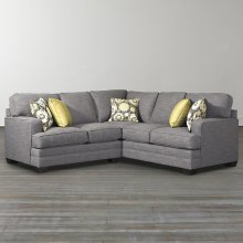 Custom Upholstery XL L-Shaped Sectional