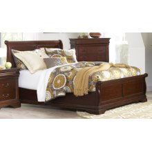 King Low Profile Complete Bed