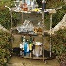 Arbor Bar Cart-Nickel Product Image