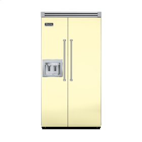 "Lemonade 42"" Quiet Cool™ Side-by-Side with Dispenser - VISB Tru-Flush™ (42"" wide)"