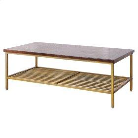 Walter KD Coffee Table, Dark Brown