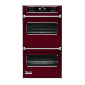 "Burgundy 27"" Double Electric Touch Control Premiere Oven - VEDO (27"" Wide Double Electric Touch Control Premiere Oven)"