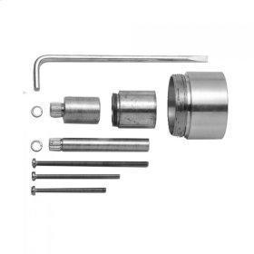 """Satin Copper - All Brass Extension Kit for 1/2"""" Tub & Shower Valve (J-THVC12)"""