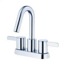 Chrome Amalfi Two Handle Centerset Lavatory Faucet