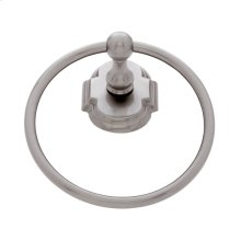 Satin Nickel Chateau Towel Ring