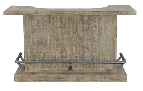 Emerald Home Ac560-07 Interlude Bar, Sandstone Gray